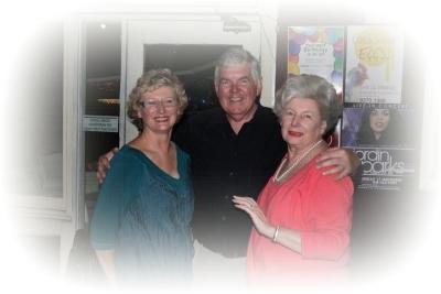 Gail Cleland, Greg Browne & Edyth Langham-Goodwin OAM