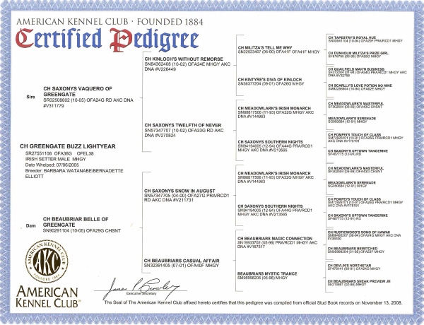 cropped Keegans Certified Pedigree