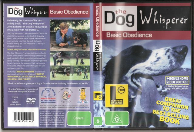 The Dog Whisperer DVD