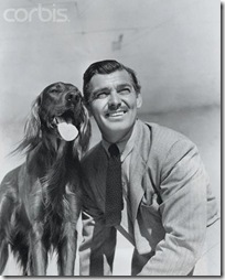 Clark Gable and Lord Reily