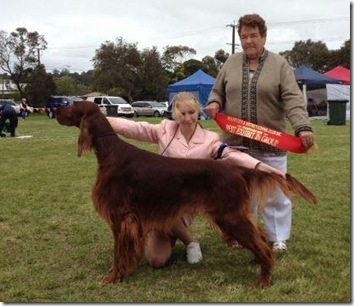Rauri Best In Group Mount Gambier 2012
