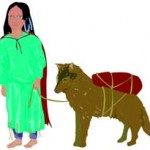 Native_American_with_Dog