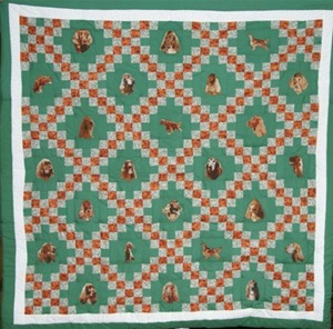 front view of ISCWNY held up quilt